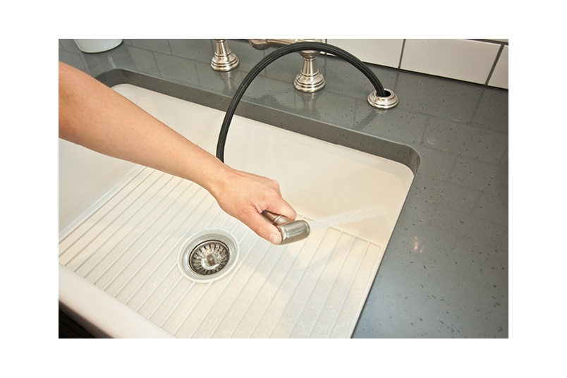 Acquello fireclay sinks are made in Italy