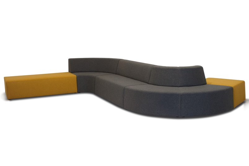 The Pause seating system is ideal for public and commercial spaces, waiting or break-out areas.