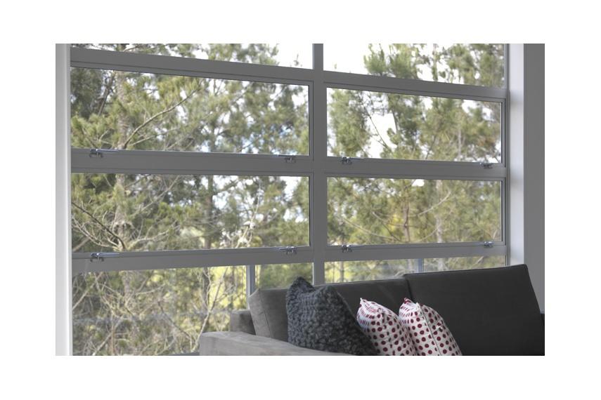 Awning window banks make a great design statement