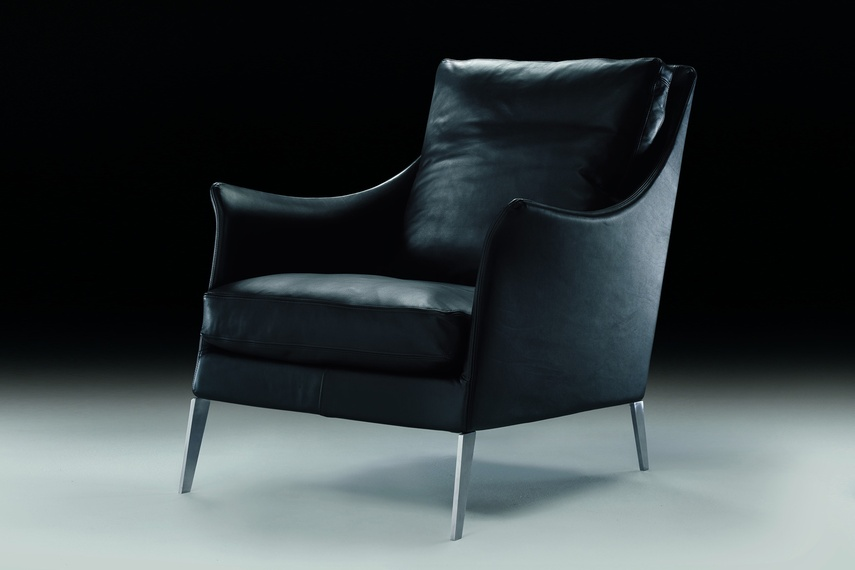 The Boss chair makes an elegant statement for any room.