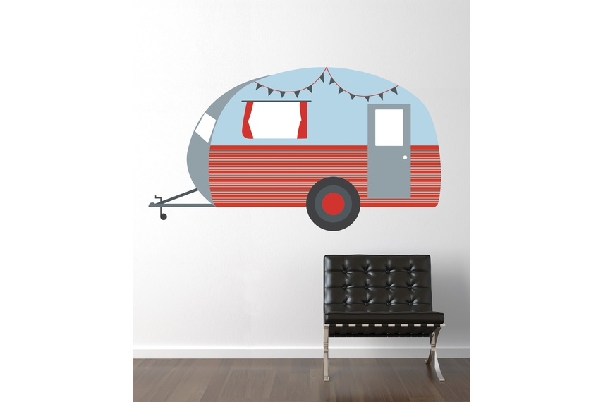 Cool kiwi caravan – full colour design