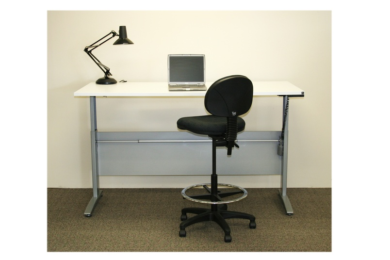 The Surge desk is suitable for the home or the office