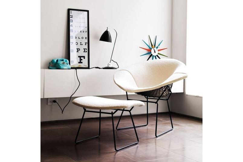 Bertoia Diamond chair.