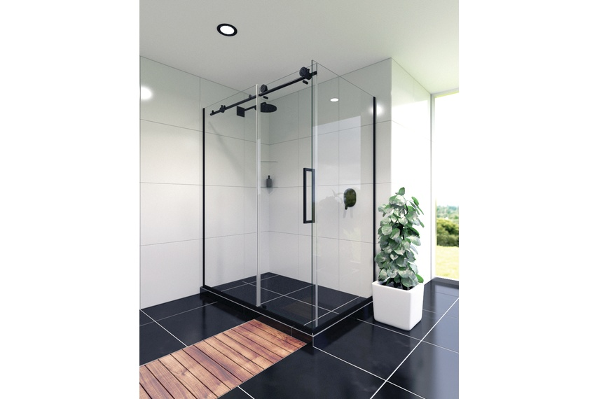 Ravello tile shower.