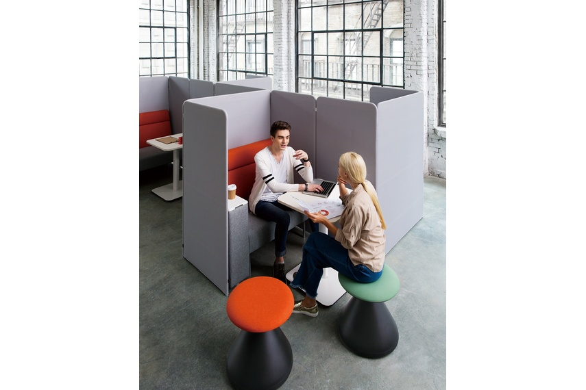 Square suits those who want to create a new type of work environment with collaboration spaces.