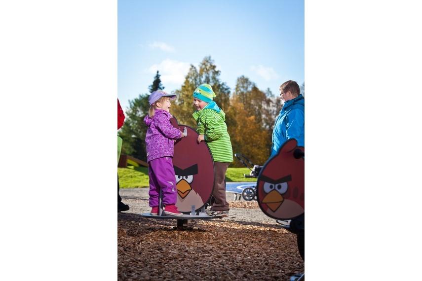 Angry Birds – Fat Bird carousel
