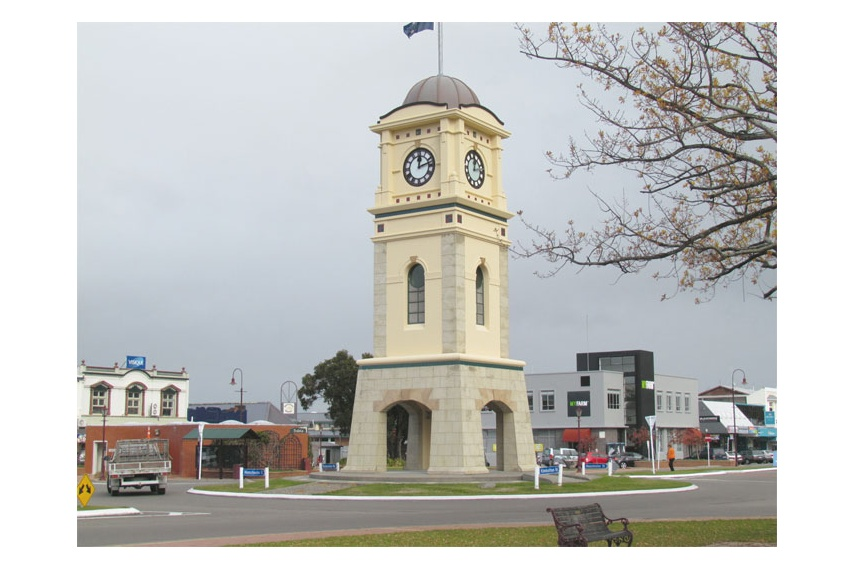 Resene AquaShield protects the Feilding Clock Tower