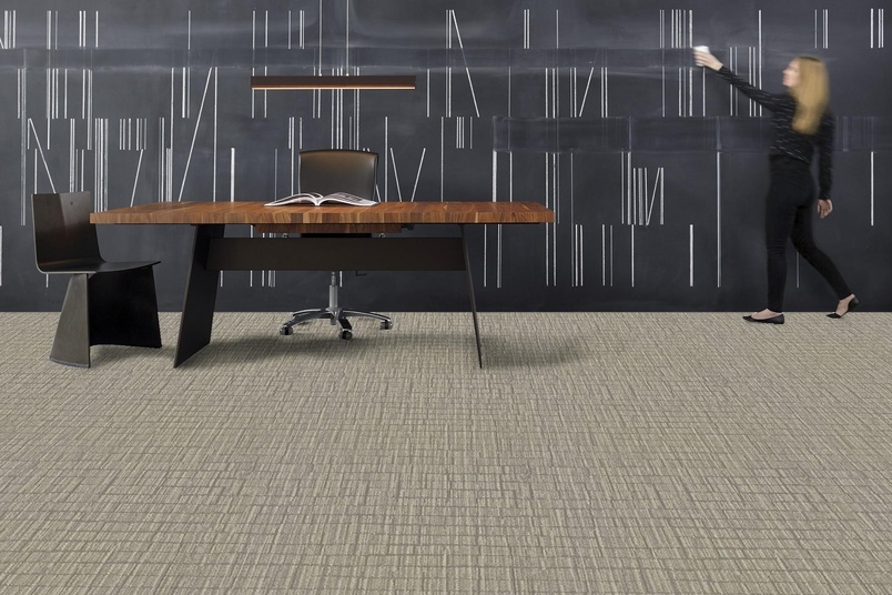 Shaw Contract Group's latest carpet tile collection, Hand Drawn, examines the simplicity of hand