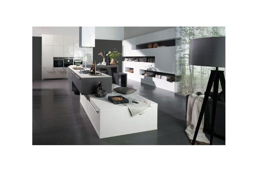 design kitchen italian%0A Atmos  textured  modern kitchen design  featuring high gloss and wood grain  fronts