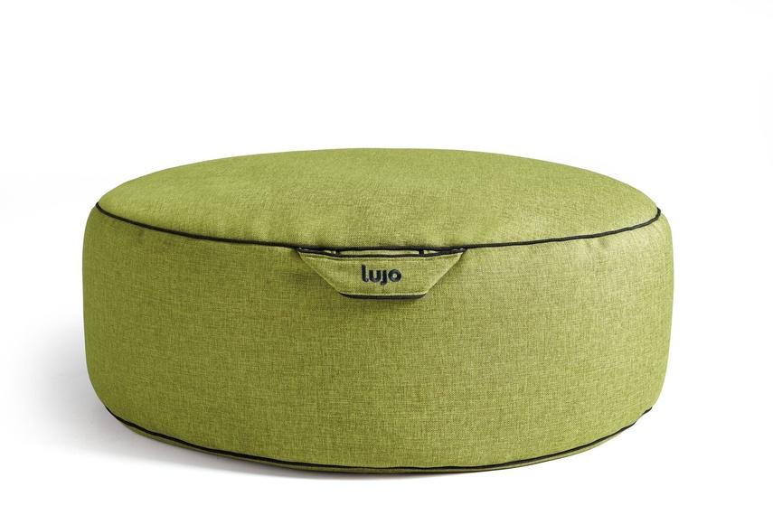 Tulum ottoman (indoor/kiwi).