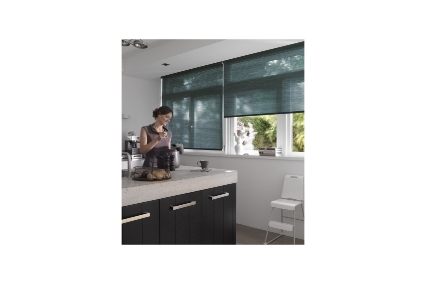 Luxaflex Rollershade systems come in a wide range of styles and operating options