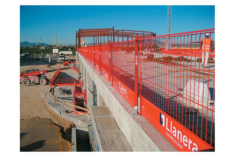 New Steel Mesh Barrier Based System By Camelspace Selector