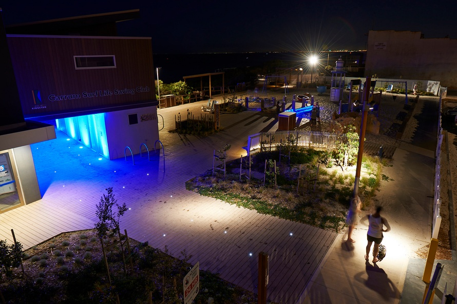 Lighting the way to a revitalised Carrum foreshore