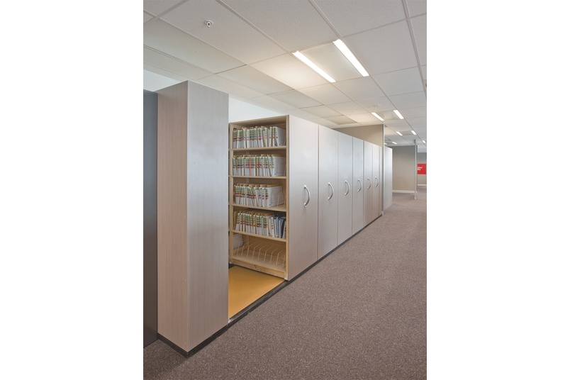 Lundia mobile shelving systems are EnviroSpec verified