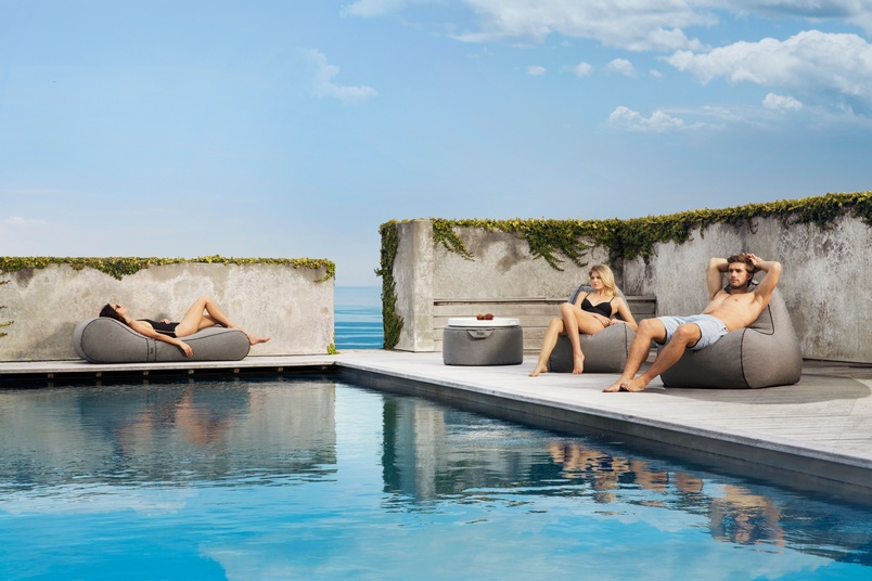 Outstanding Tulum Outdoor Bean Bag Chair By Lujo Selector Caraccident5 Cool Chair Designs And Ideas Caraccident5Info