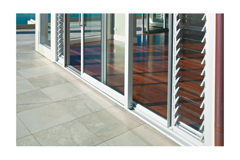 Louvres allow for ventilation when doors are closed
