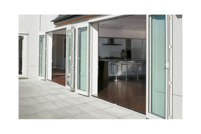 Foldback® bifold doors in Arctic White.  sc 1 st  Selector & Foldback® bifold doors by Altus Windows \u2013 Selector