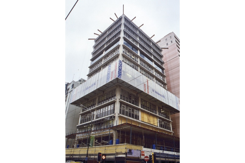 Structural glass refurbishment - Featherston St, Wellington