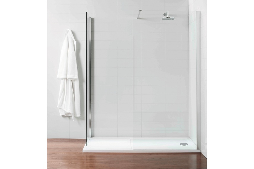 VCBC walk-in shower enclosures offer openness and space
