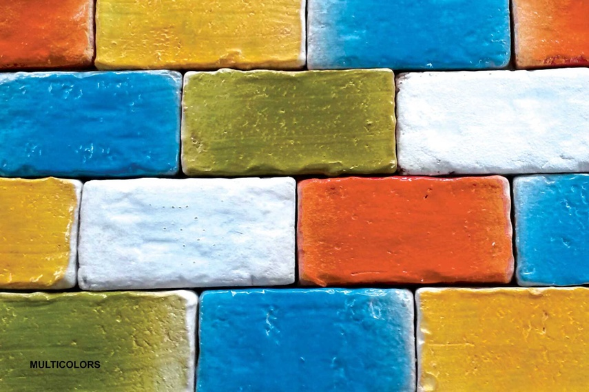 Muro Vecchio bricks by Gallery 4.