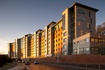 Abertay University, Dundee, UK using Kingspan's Architectural Wall Panel (Curvewall).   Kingspan insulated wall panels offer architects unprecedented freedom of design.