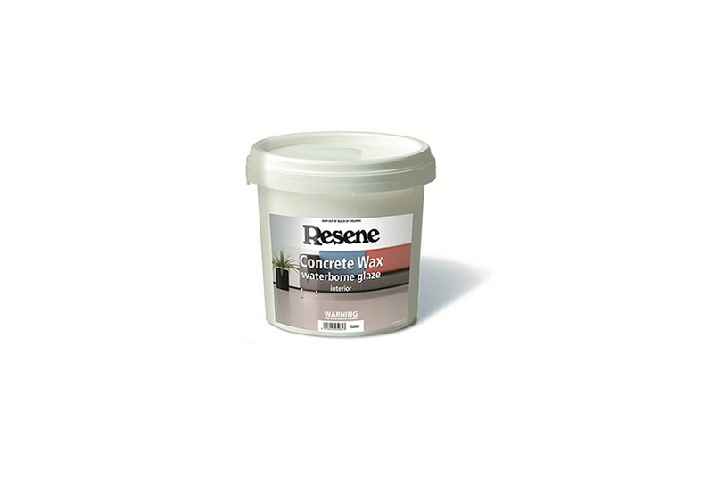 Resene Concrete Wax protects your concrete benchtop or floor, and is quick and easy to apply.
