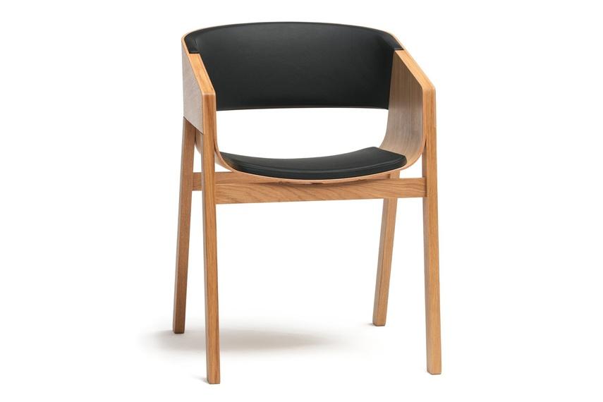 Upholstered Merano armchair.