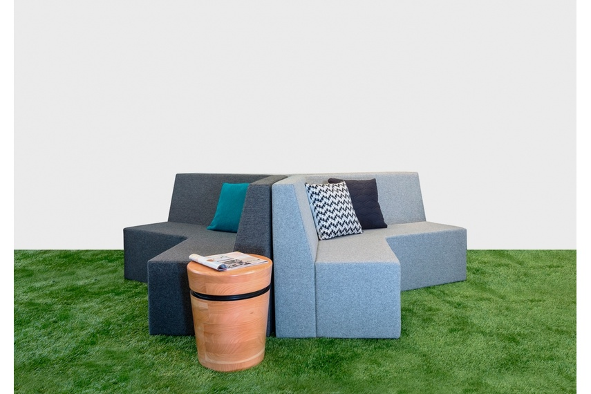 A seating solution with endless possibilities, as large or as small as you want.