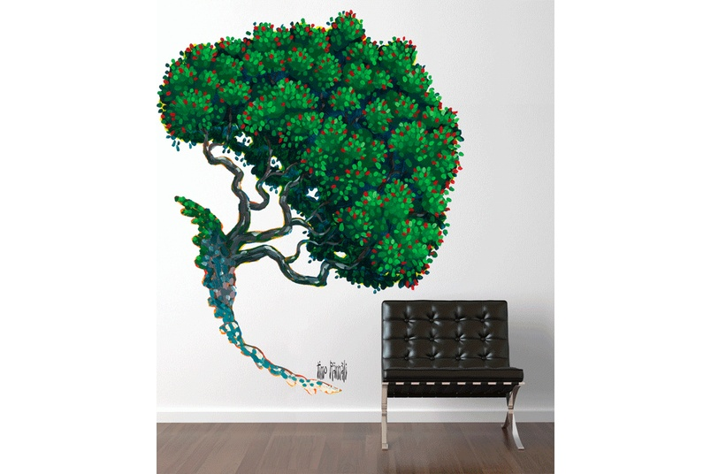 A Pohutukawa Tree by Timo Rannali – part of New Zealand artists in residence series