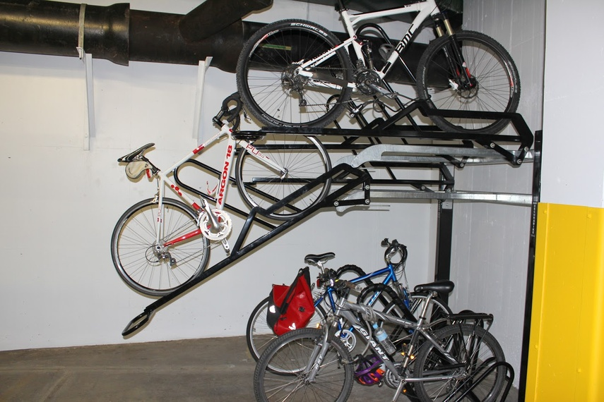Securabike cycle rack