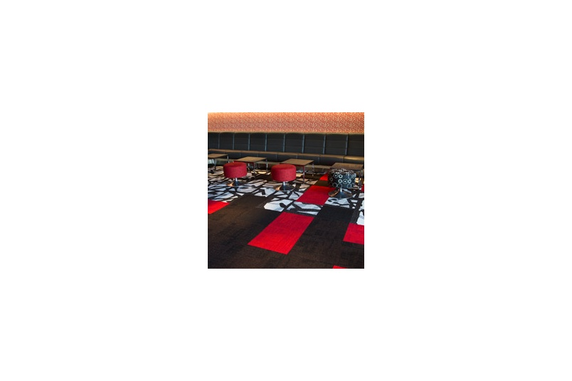 Syncopation colourways carpet tile