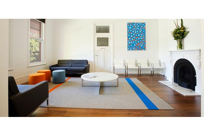 Tretford rugs at Dentist Clinic Malvern