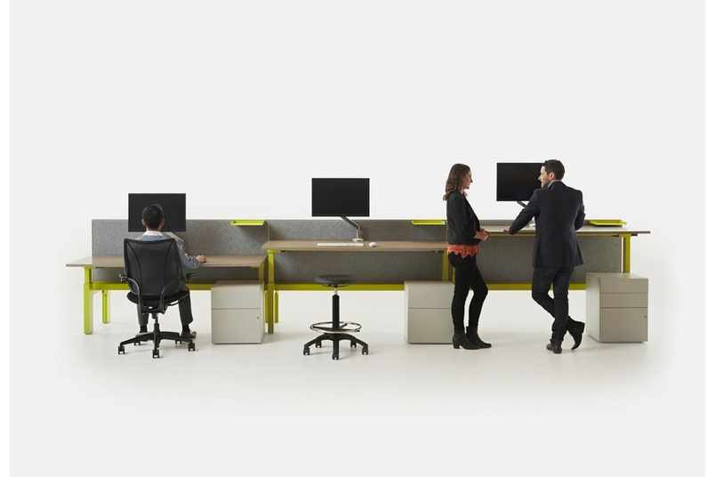Centric is a fully refined office desking and table system