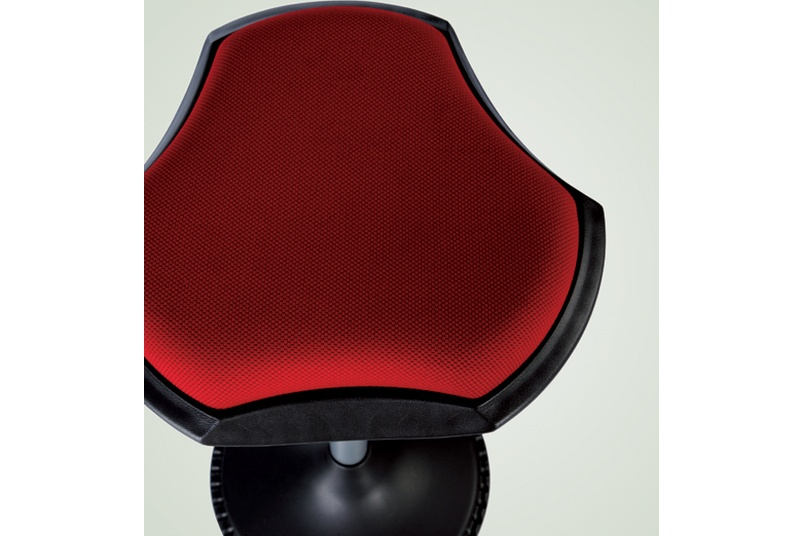 The seat shape was inspired by the stingray.