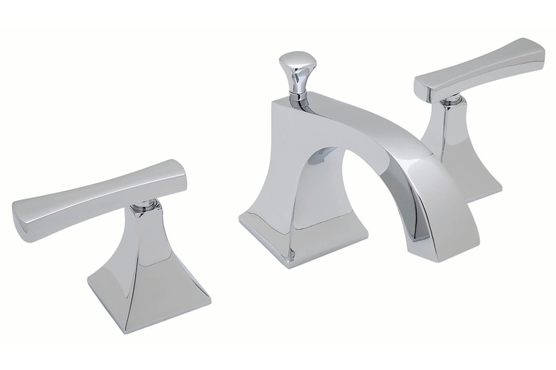 Viena 3 hole deck-mounted basin set.