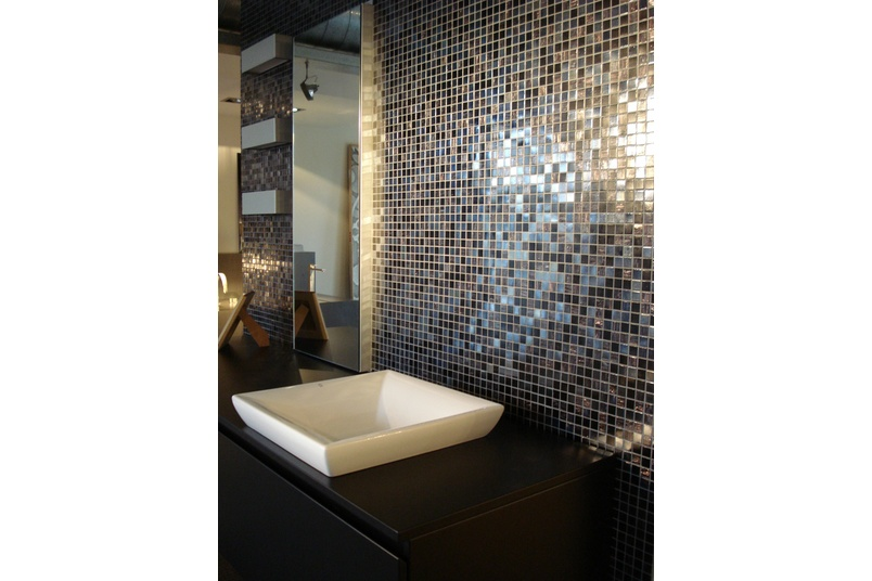 Bisazza mosaics add a premium touch to interior spaces