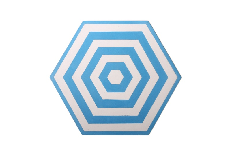 Encaustic Target tiles are ideal for installing in new builds or for redesigning an existing space.