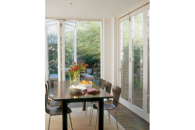 Sliding and folding door solution