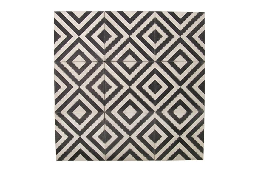 Slim Crosseye tile: geometric pattern.