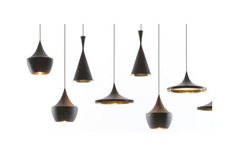 Beat light designed by Tom Dixon