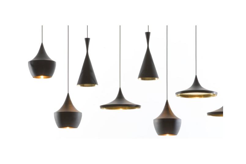 Beat light designed by Tom Dixon