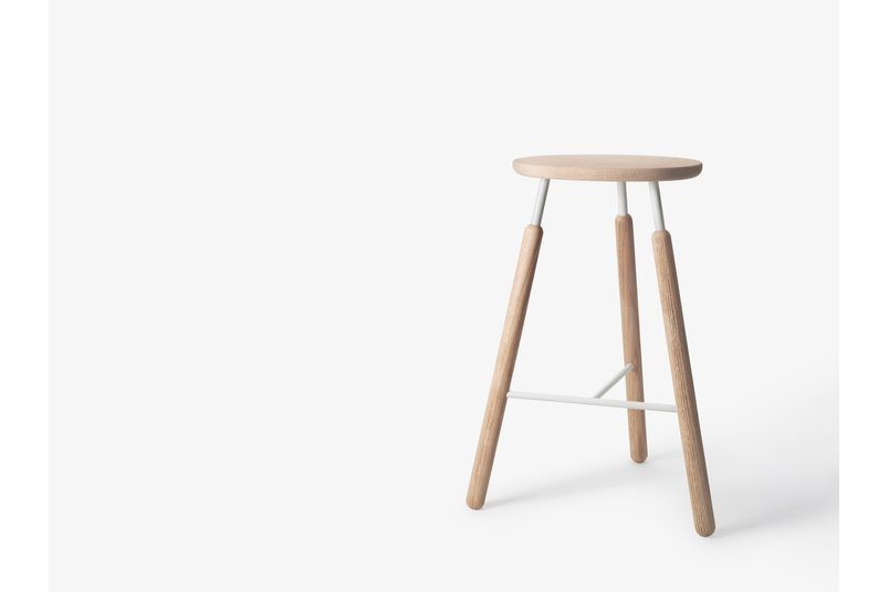 Raft stool by &tradition.