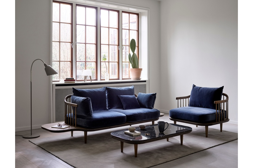 Fly Sofa With Side Table By Dawson Co Selector