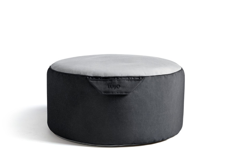 Tulum small ottoman (outdoor/two tone).