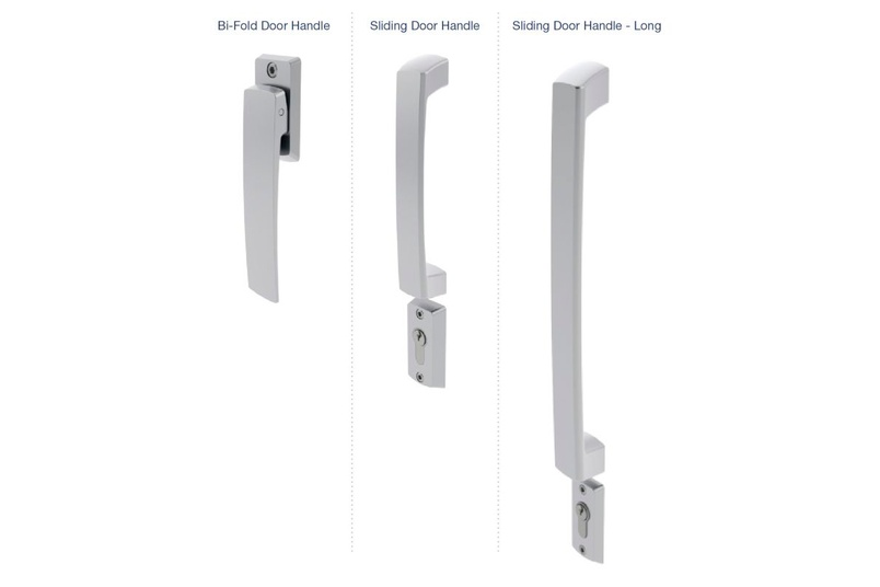 Malta® bi-fold and sliding door handles
