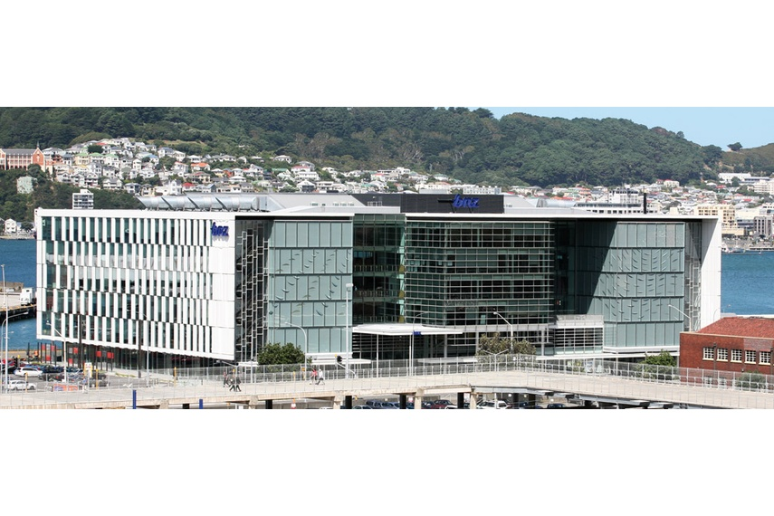 High rise panel walls - BNZ F1/F2, Wellington