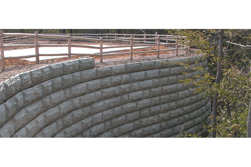 Strong Stone redefines retaining walls.