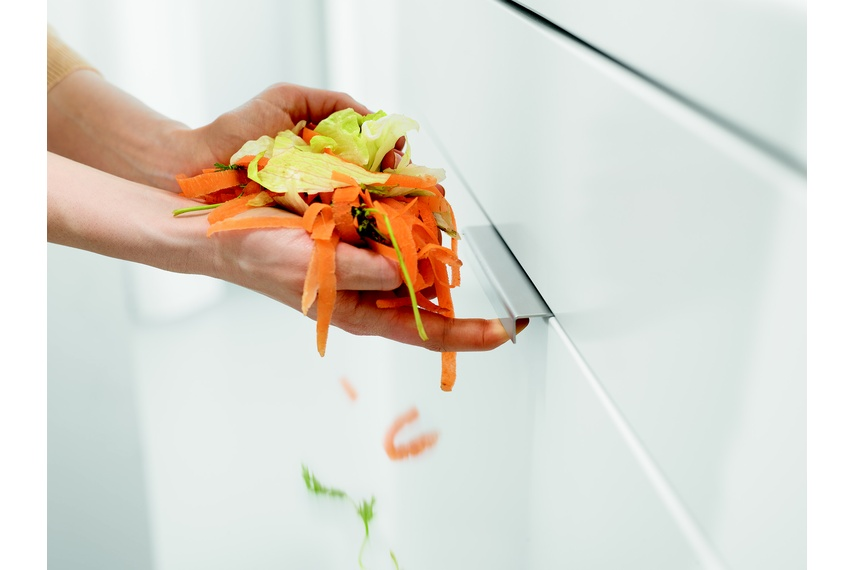Servo-Drive uno is part of Blum's innovative range of kitchen hardware.