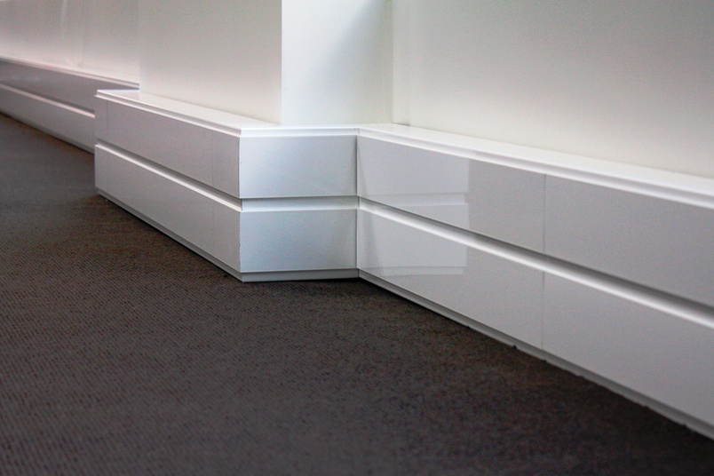 PSL CAT 6 skirting trunking system