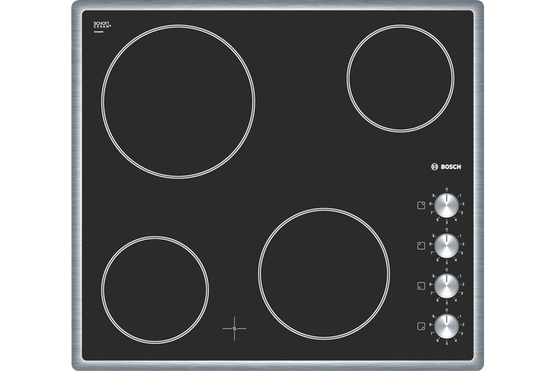 Stainless Steel 60cm ceramic cooktop.